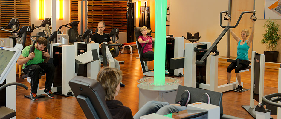 Zirkeltraining Thera-Fit Fitness-Studio Hanau